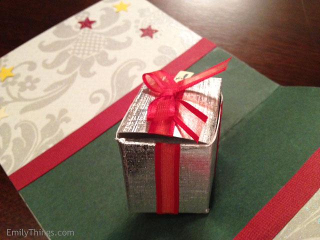 Pop Up Card Gift Box