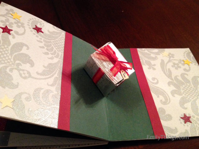 Pop Up Card Gift Box