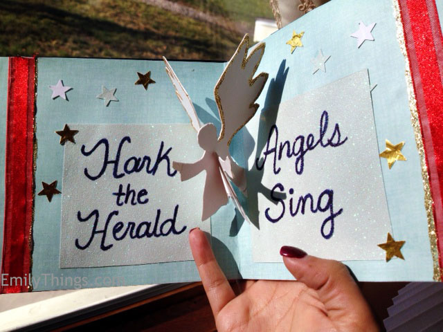 Pop Up Angel Christmas Card