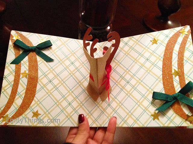 Pop up reindeer