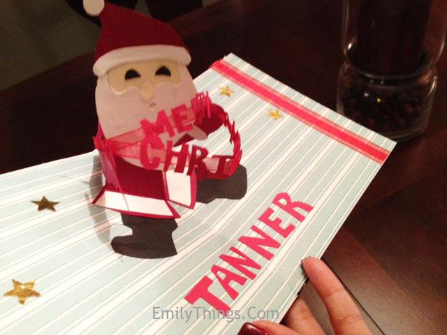Pop Up Santa Claus