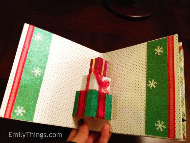 Pop up Christmas presents