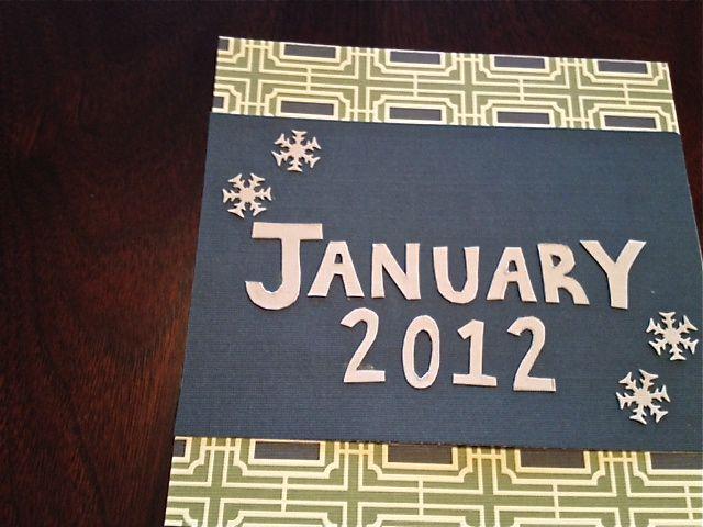 January 2012 DIY Calendar