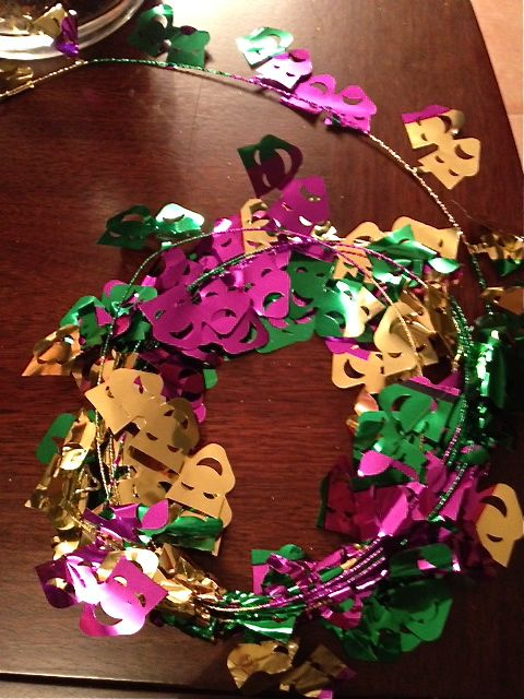 Mardi Gras Garland Party