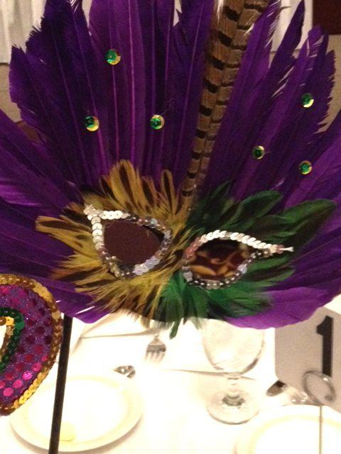 mardi gras mask handmade cheap diy