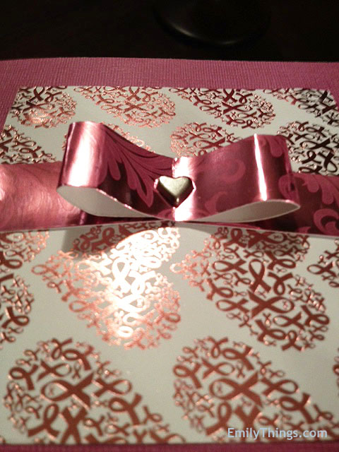 Pop Up Valentine Handmade DIY