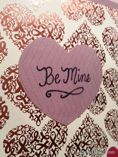 Valentine Pop Up Card Handmade Hearts