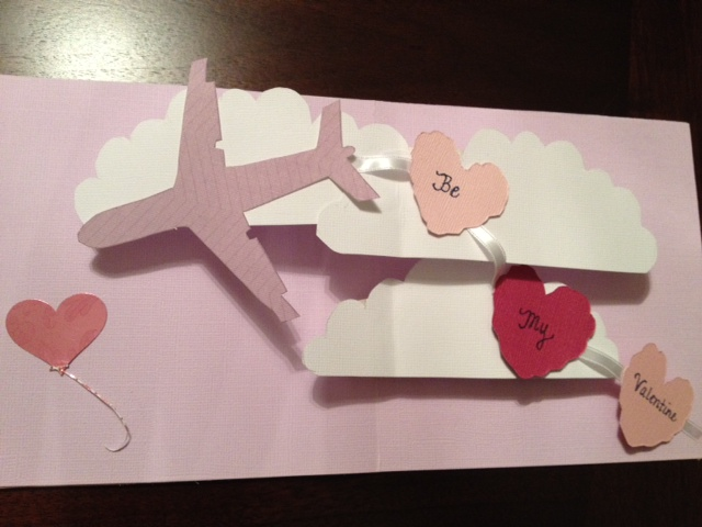 Pop Up Card Be My Valentine – How to Make a Valentines Pop Up Card