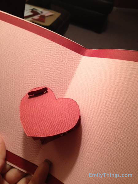 Pop Up Valentine Card Handmade DIY How to Make a Pop Up Card