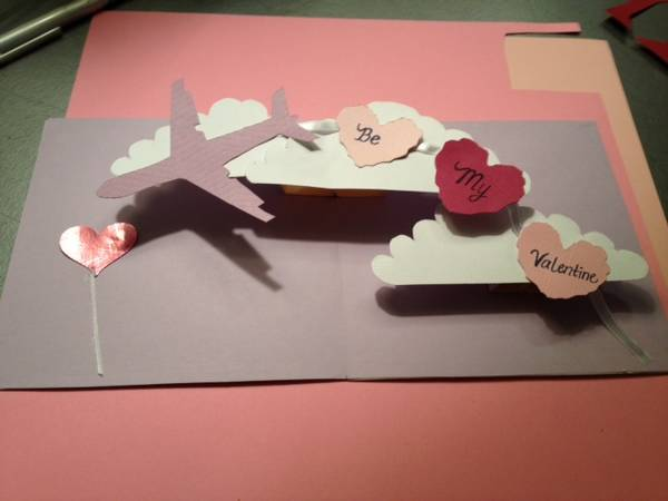 How to Make a Pop Valentine Card Tutorial