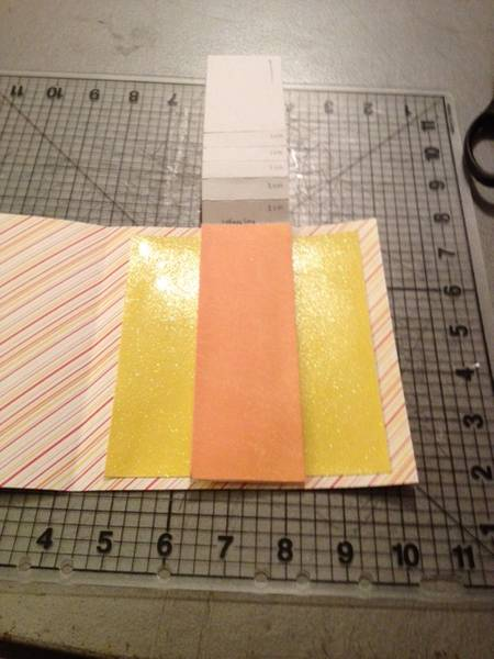 tutorial pop up card how to make a waterfall card