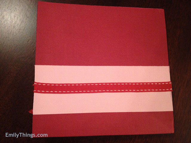 Valentine Pop Up Card DIY Handmade