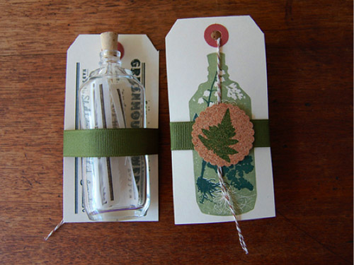 message bottle unique save the date creative ideas