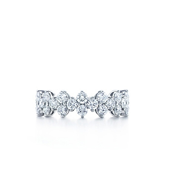 Eternity Band Tiffany Aria Band 13000 tiffany diamond aria wedding band