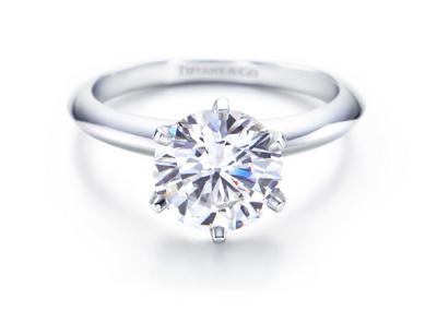 Tiffany diamond solitaire
