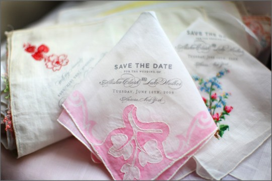vintage save the date creative ideas