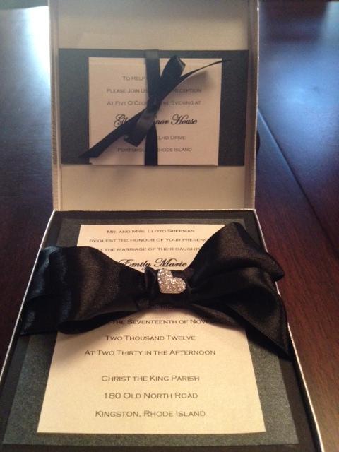 Ri wedding invitations emilys enchantments diy boxed wedding invitation couture handmade elegant solutioingenieria Choice Image
