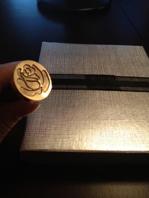 boxed wedding invitation | Emily\'s Enchantments