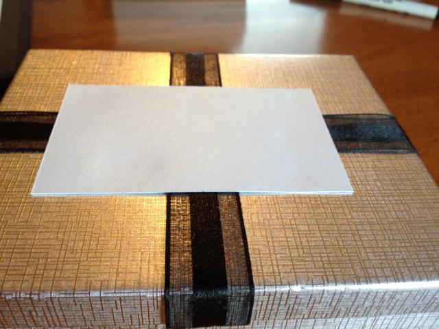 boxed wedding invitation couture elegant formal
