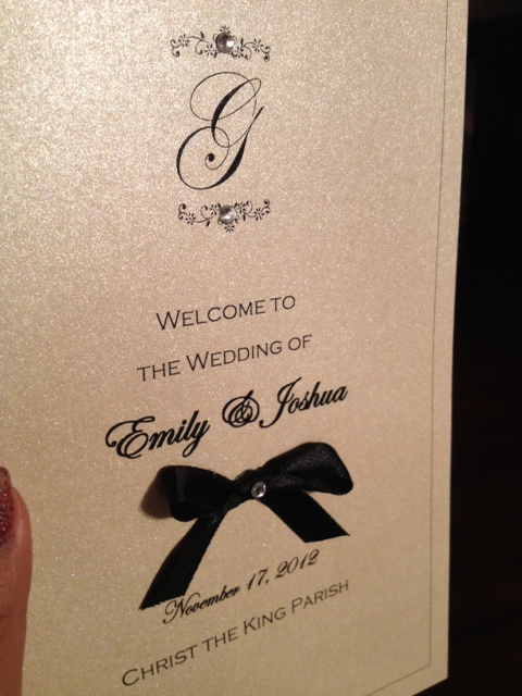 weddingceremonyprogramselegantformal